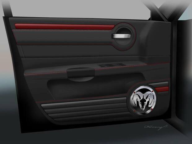 3D-визуализация салона автомобиля