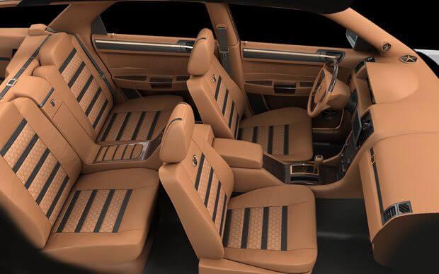 Компьютерное проектирование и 3D визуализация салона автомобиля