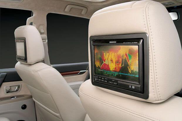 Установка мониторов в авто