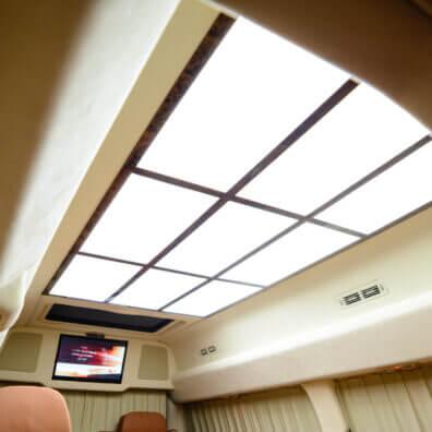 LED панели дневного освещения в авто
