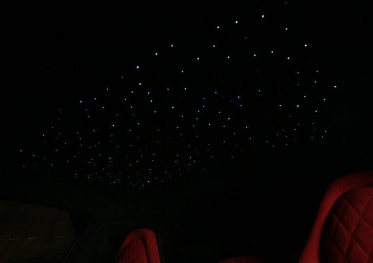 Звездное небо как в Роллс-Ройс