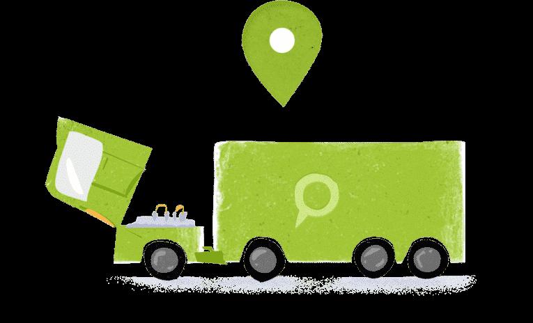 Применение GPS-мониторинга для автопарка